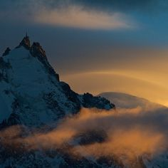 """""""At least the light is good while we wait for some more snow."""" Arc'Athlete Stian Hagen, from Chamonix."""