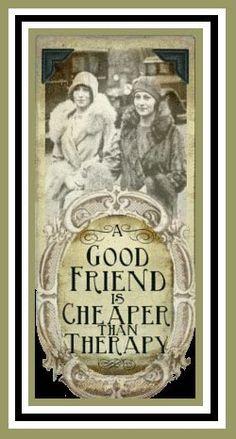a good friend~