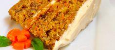 """""""Torta de zanahoria"""". Variación de receta al combinar los ingredientes. #Recetas Via Cocina y Vino"""