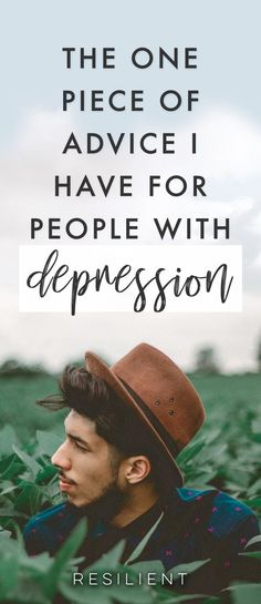 If I gave just one piece of advice to someone struggling with depression, it would be this. It's deceptively simple, but it has the power to change your life. #depression #depressed #mentalhealth #health #wellness #selfhelp