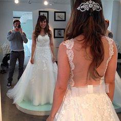 Vestido do sonho de toda noiva.