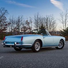 1960 Ferrari 250 GT Series II Cabriolet  from @classiccarchasers -  Baby Blue Eyes: ClassicCarChasers.com  1960 Ferrari 250 GT Series II Cabriolet  By the early 1960s road car production had ceased to be a sideline for Ferrari and was seen as essential to the company's ongoing stability. Thus the 250 Ferrari's first volume-produced model. This stunning 1960 250 GT Cabriolet Series II finished in Azzurro Chiaro over a warm Tan leather interior is the 46th example produced.   #ferrari #250gt…