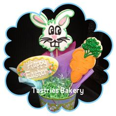 Little #Bunny Foo Foo is hopping all the way to Tastries! Visit us for #Easter cupcakes and cookies.