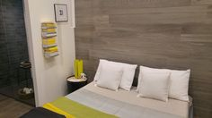 """Do you miss summer? Put some yellow in your life! Porcelain Wall tile """"Woodgrace"""" by Ragno.  Pad. 20.  #MCaroundCersaie #Cersaie"""