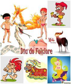 Dia do Folclore - http://redes.moderna.com.br