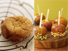 Choose Foods Lower in Cholesterol: Peanut Butter Cookies vs. Caramel Apple with Nuts