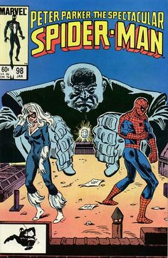 Peter Parker, The Spectacular Spider-Man # 98 by Al Milgrom
