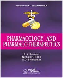 Satoskar Pharmacology Ebook