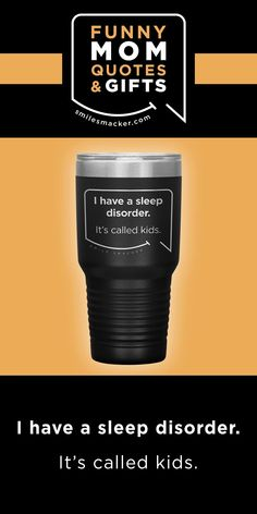 Mom's sleep disorder ~ Smack this quote onto Extreme Travel Mugs & more. We're here to send a smile your way when #momlife gets crazy! Find your #smilestyle at smilesmacker.com Best Friend Gifts, Gifts For Friends, Mommy Finger, Motherhood Funny, Funny Mom Quotes, Birthday Gift For Wife, Make Up Your Mind, Gift Quotes, Parenting Quotes