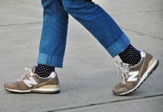 Носки на джинсы
