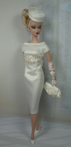 Crémeux for Silkstone Barbie on Etsy now