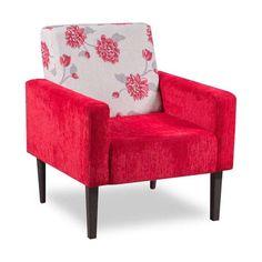Pink, pink, pink! Pra acender sua sala ou quarto e dar aquele toque especial com essa poltrona floral.