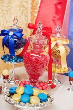 Ideas de la fiesta de cumpleaños de la princesa de la nieve blanca   Foto 7 de 18   Catch My Party