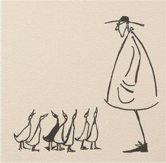 Getting All His Ducks In A Row. Sam Toft