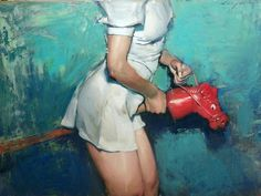 Malcolm Liepke, Paintings. Suggestive, sensual and... - SUPERSONIC ART