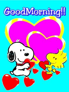 Good Morning Gif, Good Morning Quotes, Snoopy Pictures, Heart Gif, Peanuts, Charlie Brown, Mornings, Merry Christmas, Spirituality