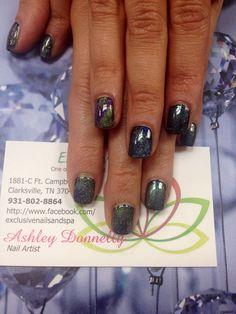 #nails #exclusivenails #nailsbyAshley #galaxynails