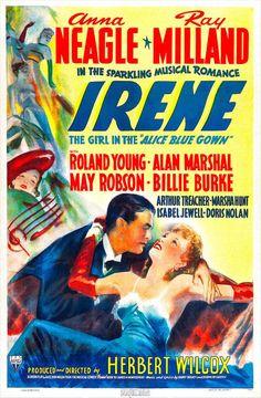 movie posters 1940s | Irene (1940 film) movie poster