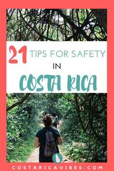 Costa Rica is a relatively safe country, but you still need to use caution while traveling here. As expats living abroad in Costa Rica these are the 21 things we do to stay safe.