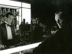 Behind the scenes #Shining