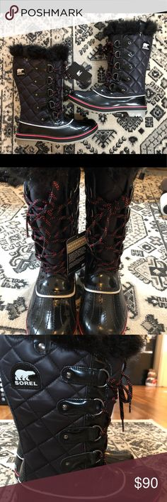 Sorel Tofino Cate lightweight boots Waterproof winter boots.   Must have for the winter! Sorel Shoes Winter & Rain Boots