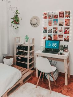 30 Approved Decorating Ideas * in the pays-des-fleu . - 30 Approved Decorating Ideas * in-the-land-of-flowers … - Cute Room Ideas, Cute Room Decor, Room Ideas For Men, Room Ideas Bedroom, Bedroom Decor, Bedroom Inspo, Men Bedroom, Girl Bedrooms, Teenage Bedrooms