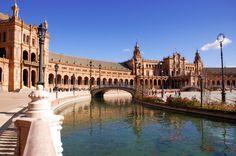 Andrea Mazzocchetti Photography: Seville, Spain &emdash; Plaza de España