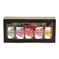 Xoxo Body Lotion Set In Box/Melon/Grape/Apple/Cherry/Coconut-5Pc
