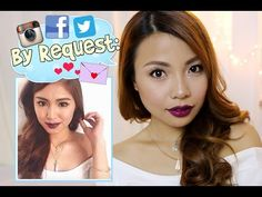 By Request: NADINE LUSTRE Make Up Tutorial - YouTube