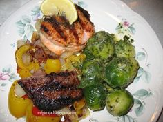 Reclaim your Health through                     Healing Cuisine: Surf n turf with Salmon n Steak