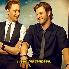 Asdfghjkl their fangirling moments over each other Tom and Chris. I ship it, but I want each of them for myself