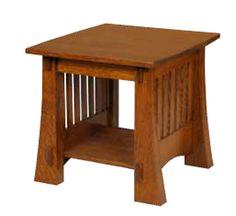 Craftsman Mission 88 End Table