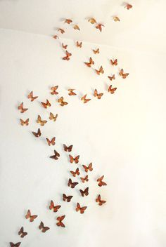 Hey, I found this really awesome Etsy listing at http://www.etsy.com/listing/112460782/3d-wall-monarchs-set-of-50