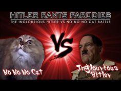 Inglourious Hitler Vs No No No Cat - YouTube