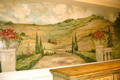 Interior Design Mural Artist Arizona, Hand Painted Wall Murals ...