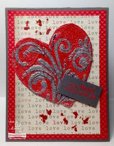 (th)INK Positive: Dreamy Embossing Embossing Powder, Latest Books, I Love Him, Stencils, Valentines, Stamp, Ink, Texture, Projects