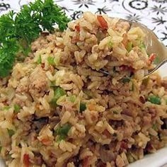 Ke's Cajun (Dirty) Rice Dirty Brown Rice - makes 3 perfect Phase 1 servings (just use pound ground turkey breast). This would be fantastic with leftover brown rice, too. Fast Metabolism Recipes, Fast Metabolism Diet, Metabolic Diet, Diet Recipes, Cooking Recipes, Healthy Recipes, Cooking Rice, Cajun Recipes, Yummy Recipes