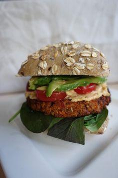 Vegan wortel linzen burgers - Lisa goes Vegan