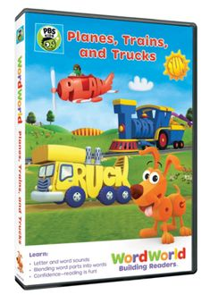 I received the product below to review in exchange for sharing my honest opinion. WordWorld: Planes, Trains, and Trucks Released: March 8, 2016 Running Time: 104 minutes When Frog and the Bug Band head to the beach to have some fun, Frog loses the letters PL from his plane and must search through th...