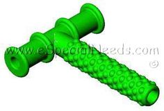 Textured Chewy Tube | Speech & Communication | Oral Motor Tools | e-Special Needs