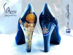 10 Aladdin Shoes ideas | hand painted