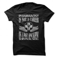 Pharmacist is not a career T Shirts, Hoodies. Check price ==► https://www.sunfrog.com/LifeStyle/Pharmacist-is-not-a-career-Black-37538596-Guys.html?41382