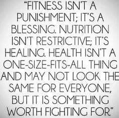 #YOURhealth is worth fighting for!!