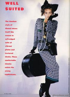 'Well Suited' from…………..Dolly magazine April 1987 feat Alison Brahe http://80s90sredux.tumblr.com
