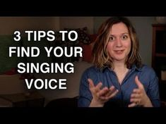 "This video is all about how to find a singing voice that is uniquely ""yours."" It offers my top 3 tips for doing so.some of which might surprise you! Check out! Felicia Ricci – Official Website – Find your voice. Vocal Lessons, Singing Lessons, Singing Tips, Music Lessons, Singing Quotes, Learn Singing, Piano Lessons, Guitar Lessons, Singing Exercises"