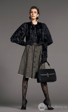 Женская одежда Dolce&Gabbana осень-зима 2012-2013