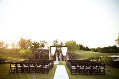 Great simple modern arbor. | Southern weddings, Southern wedding ideas, Amy Rae Photography, modern huppah, modern ceremony arch  | LFF Designs | www.facebook.com/LFFdesigns