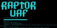 Raptor Web Applications Firewall v0.4. – Security List Network™