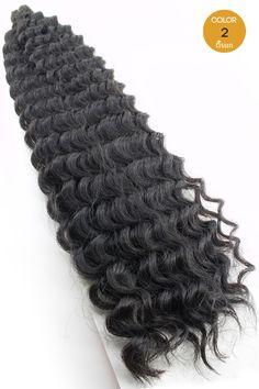 "Harlem125 Synthetic Crochet Braids Kima Brazilian Twist 20"""