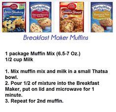 Tupperware Breakfast Maker www.michelleathome.com